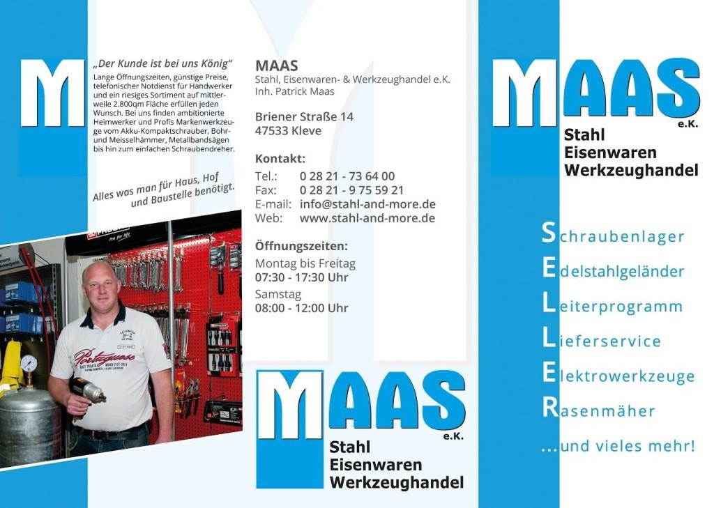 2015-04-13 - Maas Firmenflyer AUSSEN